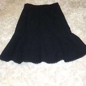 💞J.Crew 100% Wool Flute Skirt